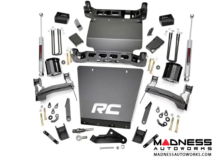 "Chevy Silverado 1500 4WD Suspension Lift Kit - 5"" Lift"